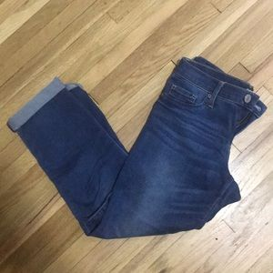 Cropped express skinnies